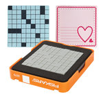 Fiskars - Fuse Creativity System - Die Cutting Design Set - Medium - Simple Pattern - Square