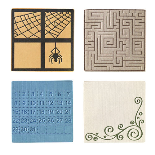 Fiskars - Fuse Creativity System - Die Cutting Design Set - Plate Expansion Pack - Medium - Square