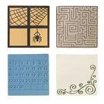 Fiskars - Fuse Creativity System - Die Cutting Design Set - Plate Expansion Pack - Medium - Square