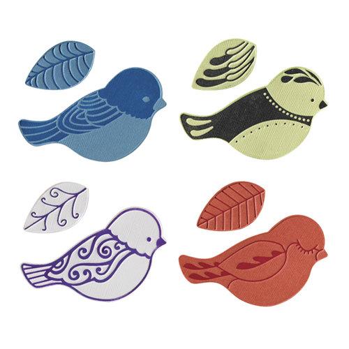 Fiskars - Fuse Creativity System - Die Cutting Design Set - Plate Expansion Pack - Medium - Bird