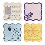 Fiskars - Fuse Creativity System - Die Cutting Design Set - Plate Expansion Pack - Medium - Curvy Square
