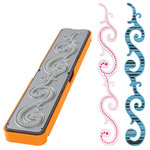 Fiskars - Fuse Creativity System - Die Cutting Design Set - Photo-etched - Border - Scroll, COMING SOON