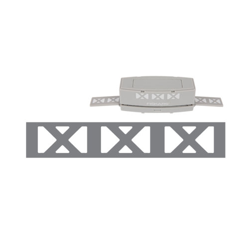 Fiskars - Interchangeable Border Punch - Cartridge - X Marks the Spot