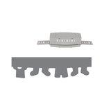 Fiskars - Interchangeable Border Punch - Cartridge - Laundry List