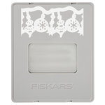 Fiskars - AdvantEdge Punch System - Christmas - Interchangeable Border Punch - Cartridge - Large - All A Glow