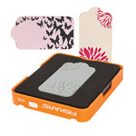 Fiskars - Fuse Creativity System - Die Cutting Design Set - Medium - Simple Pattern - Tag