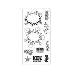 Fiskars - Clear Acrylic Stamps - KAPOW