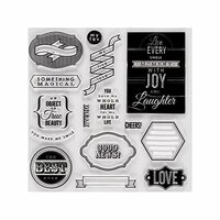 Fiskars - Clear Acrylic Stamps - Special Sentiments