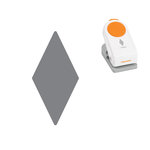 Fiskars - Thick Punch - 1 Inch - Diamond