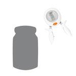 Fiskars - Squeeze Punch - Large - Mason Jar