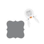 Fiskars - Squeeze Punch - Extra Large - Deco Square