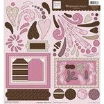 Fiskars - Heidi Grace Designs - Chipboard Shapes - Cherry Wood Lane Collection