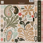 Fiskars - Heidi Grace Designs - Punchboard - Embossed Shapes - Maple Crest Court Collection, CLEARANCE