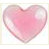 Fiskars - Cloud 9 Design - Stickers - Rain Dots - Heart - Fuchsia, CLEARANCE
