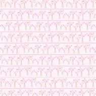 Fiskars - Heidi Grace Designs - 12x12 Flocked Paper - Baby Girl Collection - Birds, BRAND NEW