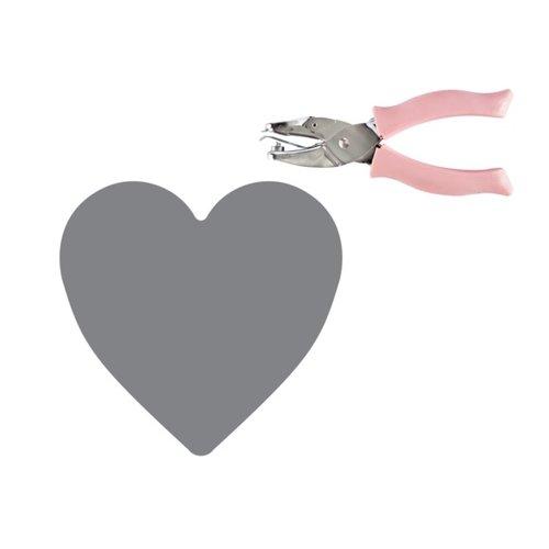 Fiskars - Teresa Collins - Hand Punch - One Quarter Inch - Heart