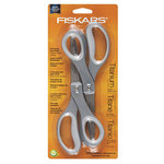 Fiskars - Performance 8 Inch Softgrip Titanium Fashion Scissors - 2 Pack