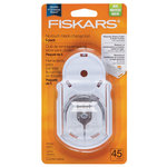 Fiskars - Rotary Cutter and Ruler Combo - No Touch Blade Change Tool - 45mm - 5 Pack