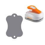 Fiskars - 3-in-1 Tag Maker Punch - Label