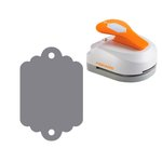 Fiskars - 3-in-1 Tag Maker Punch - Scallop