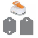 Fiskars - 4-in-1 Tag Maker Punch - Standard