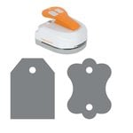 Fiskars - 4-in-1 Tag Maker Punch - Label