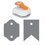 Fiskars - 4-in-1 Tag Maker Punch - Banner