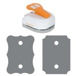 Fiskars - 4-in-1 Tag Maker Punch - Ticket