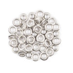 Fiskars - Tag Maker Replacement Eyelets - 50 Pack