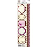Fiskars - Heidi Grace Designs - Forever Love Collection - Cardstock Stickers - Elements, CLEARANCE