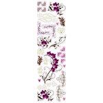 Fiskars - Heidi Grace Designs - Forever Love Collection - Clear Glitter Stickers - Flourishes, BRAND NEW