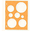 Fiskars - Shape Template - Circles 1