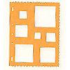 Fiskars - Shape Template - Squares 1
