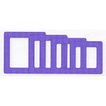 Fiskars - Shape Template Set - Super Sized Squares, CLEARANCE