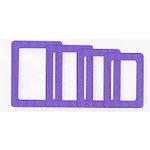 Fiskars - Shape Template Set - Super Sized Rectangles, CLEARANCE