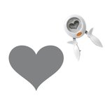 Fiskars - Squeeze Punch - Extra Large - Heart - That's Amore