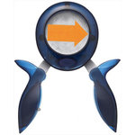 Fiskars - Squeeze Punch -  Large - Arrow - One Way