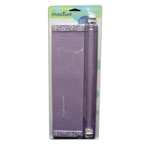 Fiskars - Creativeworks 12 inch Paper Trimmer - Butterfly Design - Lilac