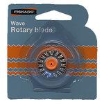 Fiskars - Desktop Rotary Wave Blade - Blade Style F