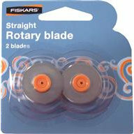 Fiskars - Desktop Rotary Replacement Blades - 2 Pack - Blade Style F