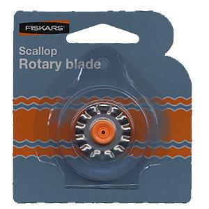 Fiskars - Desktop Rotary Scallop Blade - Blade Style F