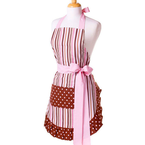 Scrapbook.com - Retro Designer Aprons - Women's - Pink Chocolate
