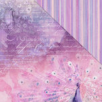 FabScraps - Wild Beauty Collection - 12 x 12 Double Sided Paper - Wings Of An Angel