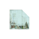 FabScraps - Christmas Collection - 12 x 12 Double Sided Paper - Victorian Children