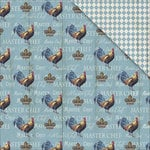 FabScraps - Country Kitchen Collection - 12 x 12 Double Sided Paper - Master Chef