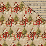FabScraps - Christmas Memories Collection - 12 x 12 Double Sided Paper - Christmas Children