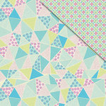 FabScraps - Kaleidoscope Collection - 12 x 12 Double Sided Paper - Zodiac