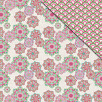 FabScraps - Kaleidoscope Collection - 12 x 12 Double Sided Paper - Flower Power