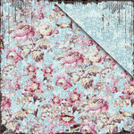 FabScraps - Vintage Elegance Collection - 12 x 12 Double Sided Paper - Sweetness