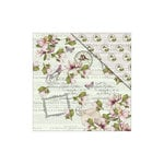 FabScraps - Floral Dreams Collection - 12 x 12 Double Sided Paper - Melody